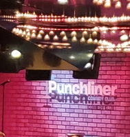This is the comedy show. This is where I spent most of my time.