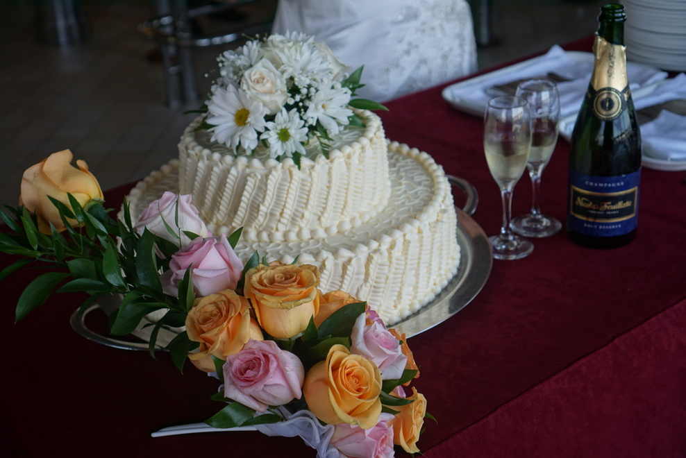Wedding cake is amazing... looks fantastic and taste really good too