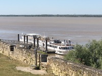 Our ship in Blaye