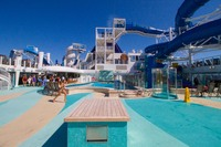 Ship pool area