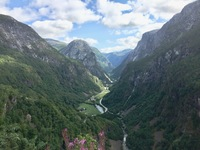 Stalheim, Norway- a dry fjord