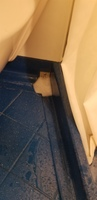 This is the only pic I have which shows the start of the flooding bathroom