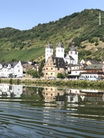 Views along Rhine River