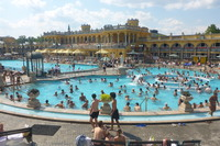 Private tour to Szechenyi Thermal Baths in Budapest