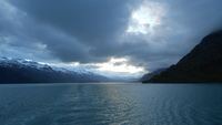 Leaving Glacier Bay