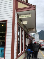 Old Harbor Books in Sitka along the main road (Lincoln Street). Super cute