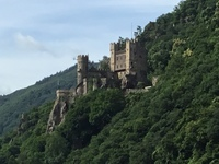 One of the amazing castles on the Rhine