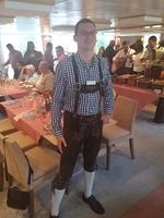 Love German themed dinner and the staff were all dressed up!