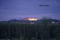Melk Abbey from the river as we departed