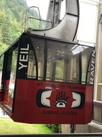 Tram ride in Juneau