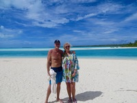 Barefoot Island in the Cook Islands - truly paradise.