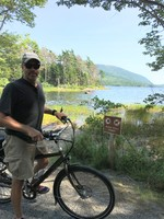 Our favorite Port Bar Harbor Acadia Park. Rented Pedego bikes on our own ju