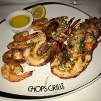 Chops Grille - lobster tail
