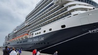 Koningsdam maiden voyage - embarkation day