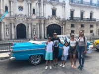 In Cuba with my family and our tour guide Duramis (duramis@nauta.cu) and th