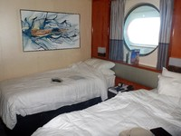 Cabin 6009, good space between beds