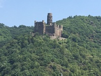 The castles are a never tiring sight on the shores of the Rhine.