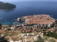Dubrovnik old town, also known as Kings Landing in Game of Thrones