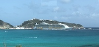 Ship while in St. Maarten