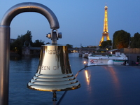 Eiffel Tower from boat deck