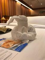 Towel origami only for gala  night