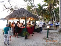BLC private Island bar.