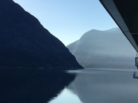 Cruising the Fjord.