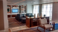 Living room on the ship.