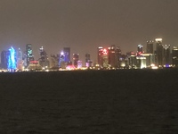 Skyline of Doha - all built in 15 years!