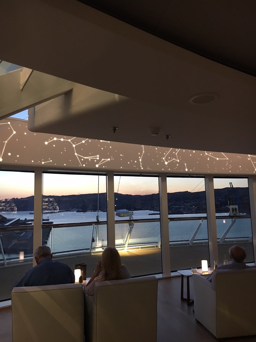 Constellations on the Explorer deck