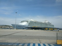 Symphony of the Seas docked in Palma de Mallorca