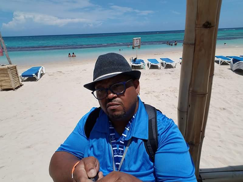 Me, in Jamaica