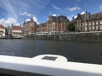 Amsterdam canal boat cruise excursion