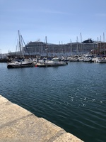 Docked in La Coruna