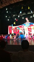 Seuss show - Staff chose members from audience to participate. Kids had a g