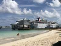 Nassau cruise port from British Colonial Hilton