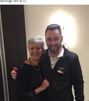 this is Terri Brophy with JJ at our last meeting at the Kempinski Hotel in