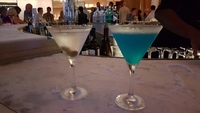 Martini bar cocktails