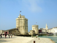 La Rochelle old harbour entrance