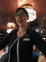 Duana from Serbia - adorable Hostess in Wind Song Restaurant and a perfect