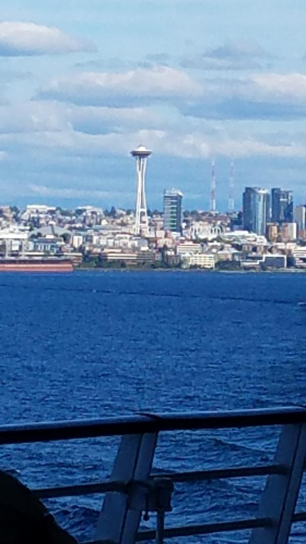 Leaving Port of Seattle