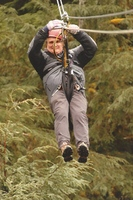 Alaska Canopy Aventures Zip line excursion