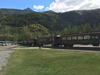 Train in Skagway