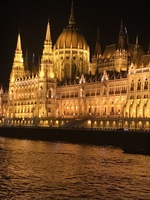 There is nothing quite like the Budapest Parliament at night