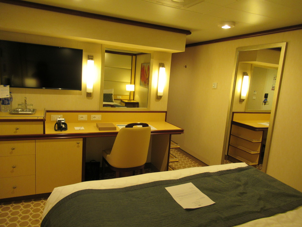 spacious cabin space