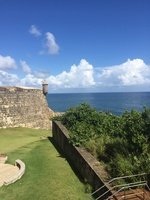 Fort in Old San Juan ( the large one)