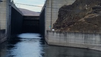 One of the locks we passed through on the Columbia River