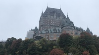 Fairmont Le Chateau Frontenac, Quebec City.