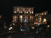 Celsus Library that evening