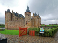 We visited Castle Muiderslot outside of Amsterdam on the tour from our Aval